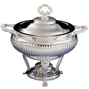 Picture of Table Accessories Chafer 3 qt Round Silver