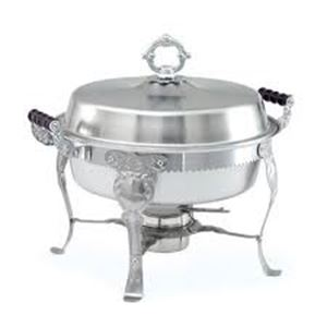 Picture of Table Accessories Chafer 6 qt Round Silver