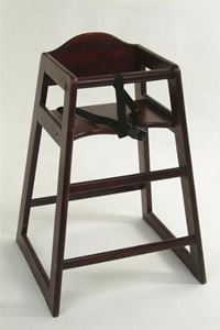 Picture of Chair Child's High Chair - Wooden